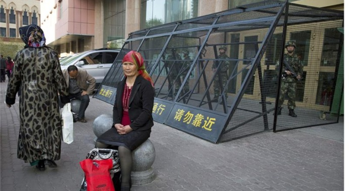 Five dead in attack in China's Xinjiang