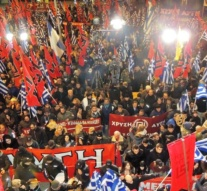 Neo-Nazi Golden Dawn march against migrants in Athens