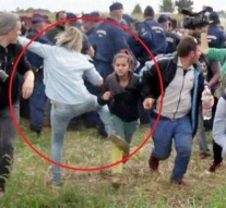 Hungarian camerawoman who kicked migrants sentenced