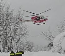 Emergency response helicopter crashes in central Italy