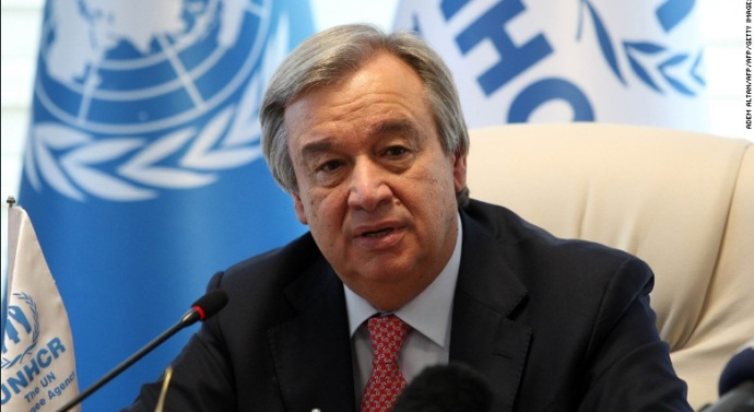 UN chief offers to broker India-Pakistan peace