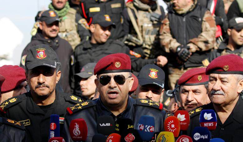 Iraq special forces chief says mission accomplished in east Mosul