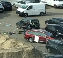 Belgium arrests man trying to drive down shopping street at high speed