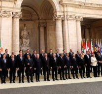 EU leaders mark 60th anniversary of founding treaty