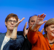Big gains for Merkel's party as German election year starts