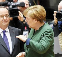 Hollande, Merkel to Turkey: Respect our law in referendum campaign events