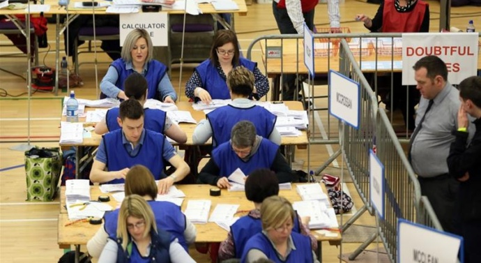 Sinn Fein surges in tight Northern Ireland elections