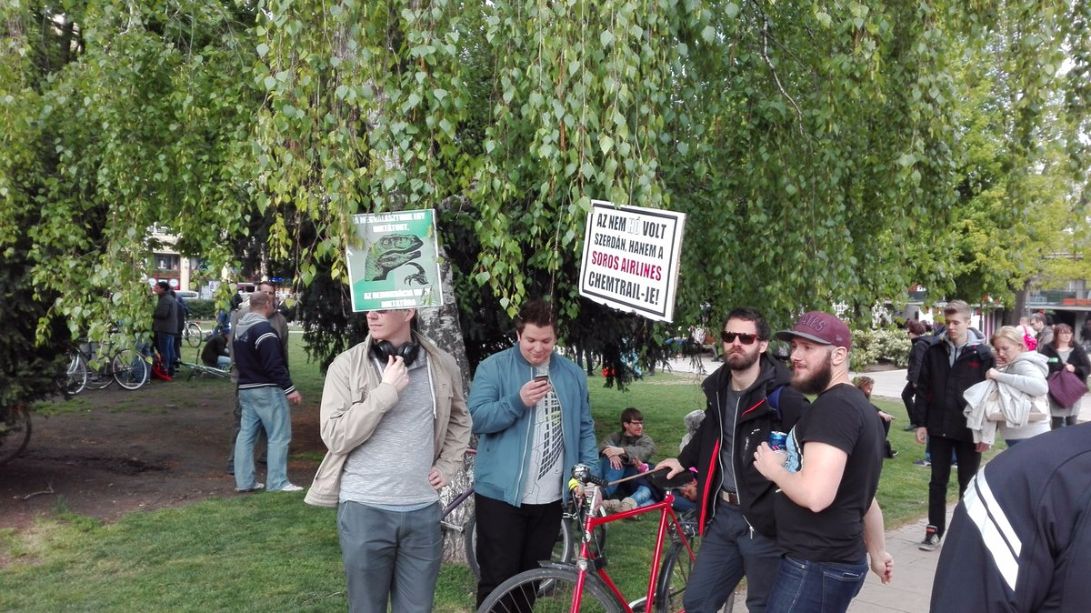 """""""Long live Viktor"""": Hungarians mosck Orban in satirical Budapest rally"""