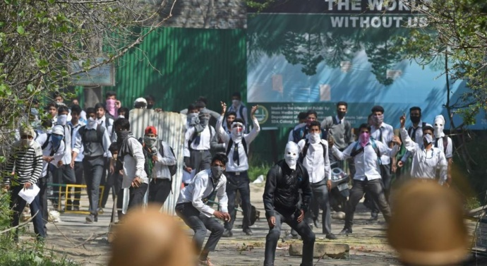 Now, plastic bullets for crowd control in violence-hit Kashmir