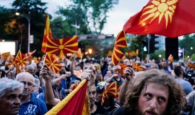 Macedonia opposition plans to form govt after violence