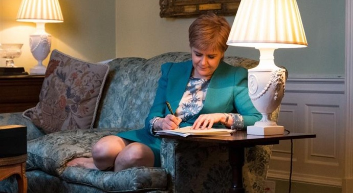 SNP success in election will pave way for scottisch secession vote: Sturgeon