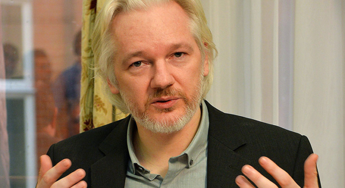Assange says ready to talk to UK and US after Sweden rape case dropped