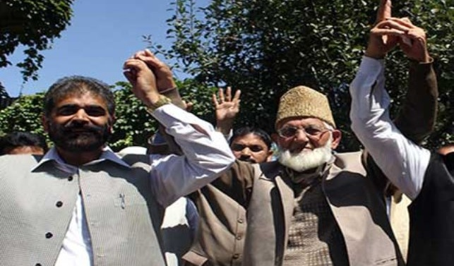 Kashmir: Geelani suspends Khan's Front from Hurriyat membership