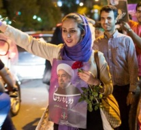 Iran chooses 'engagement with the world' as Rouhani sweeps to victory in the elections