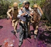 Spontaneous protests wrong-foot police, loosening India's grip on Kashmir