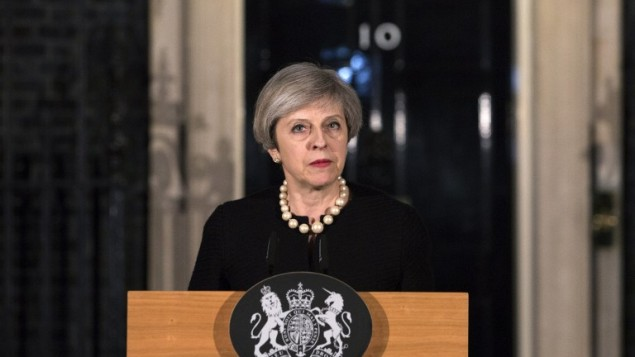 May speaks to foreign leaders after Manchester attack: spokesman