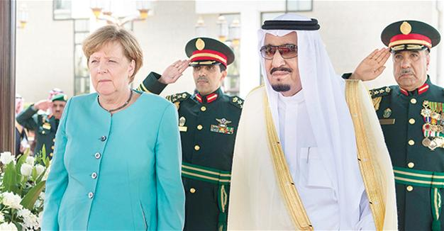 Germany's Merkel presses Saudi Arabia on refugees, women rights ahead of G-20 summit