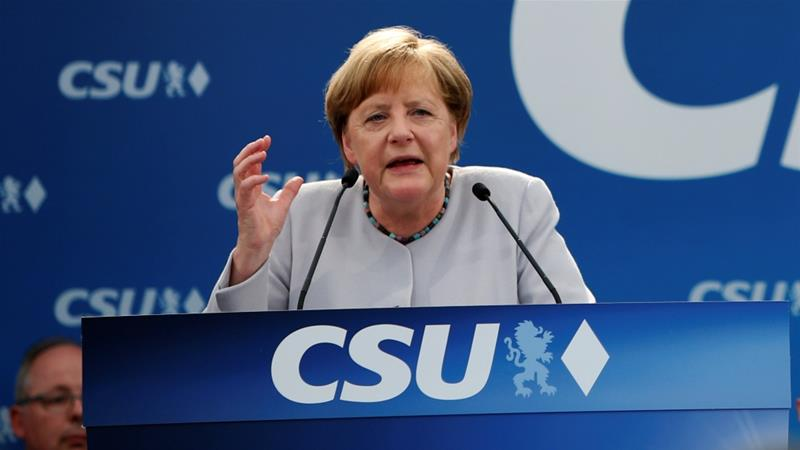 German chancellor 'being honest with US'