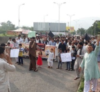 Pakistan: On Eid, protesters continue rallying in Islamabad against Parachinar bombings