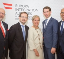 Austria Foreign Minister Kurz meets with new OSCE Secretary General and heads of OSCE institutions