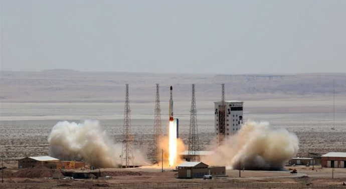 US hits Iran with fresh sanctions over space launch