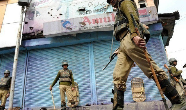 Complete shutdown in Indian-held Kashmir against civilian killings