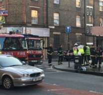 Two men hospitalised after being sprayed with acid in London