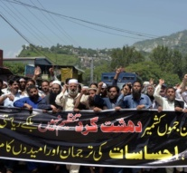 Kashmir: AJK protesters rally to condemn blacklisting of Hizbul Mujahideen by US