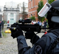 Belgian police shoot at car, call bomb squad in Brussels