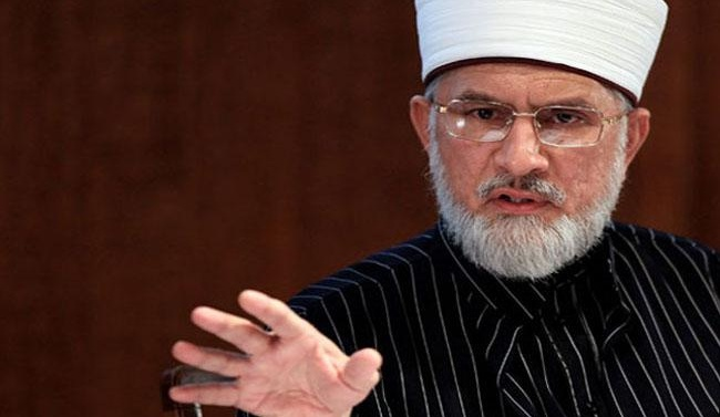 Pakistan: Qadri flays Sharifs, seeks justice for model town victims in Lahore sit-in