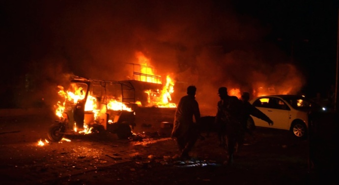 Pakistan: Attack on army truck in Quetta; at least 15 dead, 32 injured
