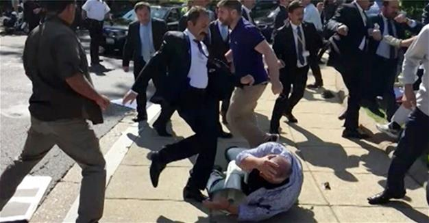 President Erdoğan says US indictment of guards from Washington brawl a 'scandal'