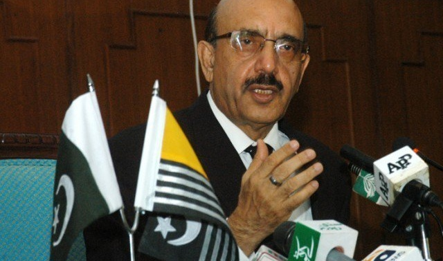 Keep unity on Kashmir cause: AJK President