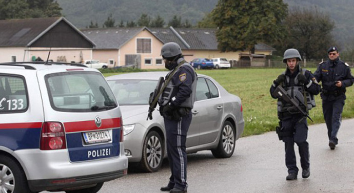 Austrian police hunt gunman after two killed in shooting