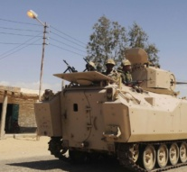 24 militants, six soldiers killed in attacks in Egypt's Sinai, military says