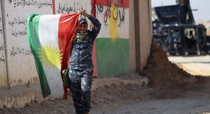 Iraqi forces seize territory from Kurds in independence dispute