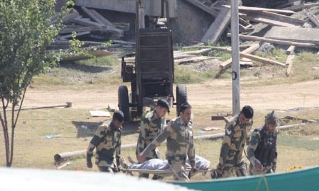 Militants storm BSF camp near airport in Kashmir; 2 militants, BSF man killed