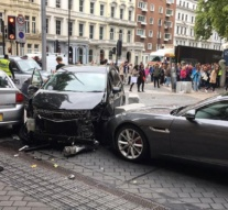 'Everyone flew in panic': Several injured as car hits pedestrians outside London museum