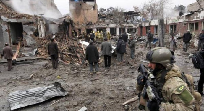 Eight dead in Afghanistan suicide attack
