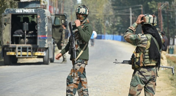 Kashmir: IAF commando, six militants including Lakhvi's nephew killed in Kashmir gunfight