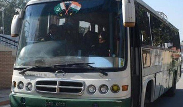 Kashmir: Bus service between two halves of Kashmir resumes after 4-month hiatus
