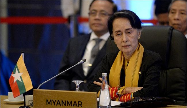 Myanmar´s Suu Kyi meets Tillerson, UN chief on Rohingya crisis