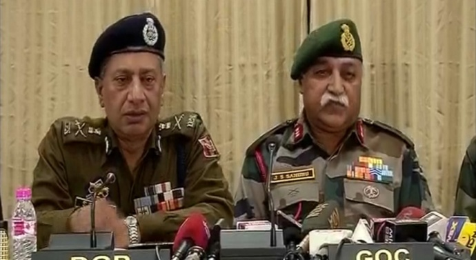Security Forces Deny ISIS Claim, Say Lashkar Leadership Wiped Out in Jammu Kashmir