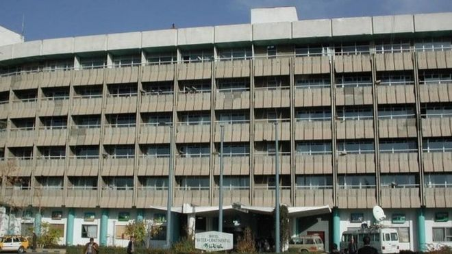 Afghanistan: Gunmen attacking Intercontinental Hotel
