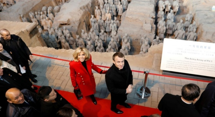 Macron calls for Europe-China alliance on climate, Silk Road