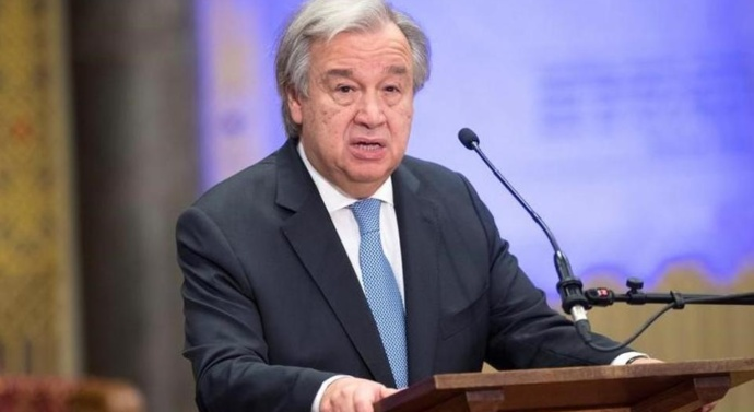UN chief Antonio Guterres calls for 'balance of power' in UNSC