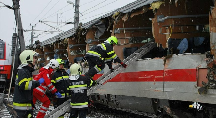 Austria train collision kills one, injures 22
