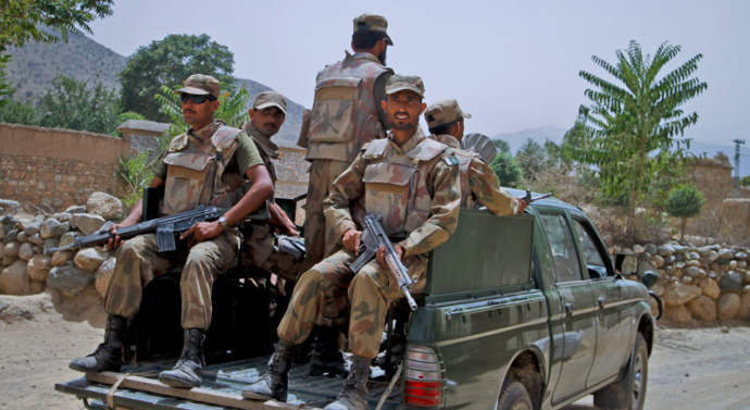 Pakistan: 4 personnel martyred in attack on FC vehicle in Quetta