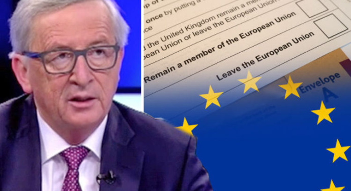 """Juncker angry at EU """"superstate"""" claims"""