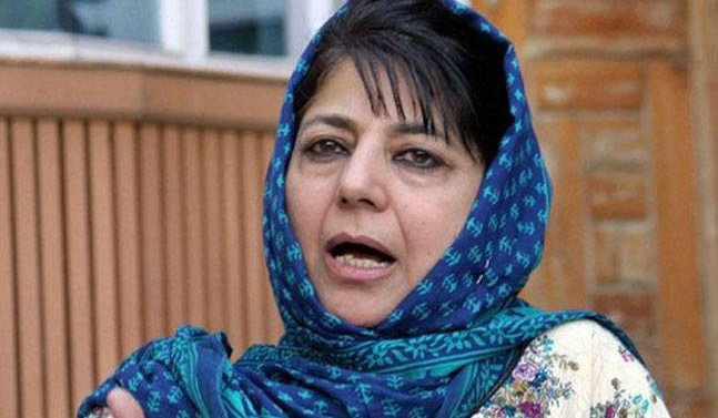 Kashmir: Mehbooba Mufti says dialogue with Pakistan necessary to end bloodshed